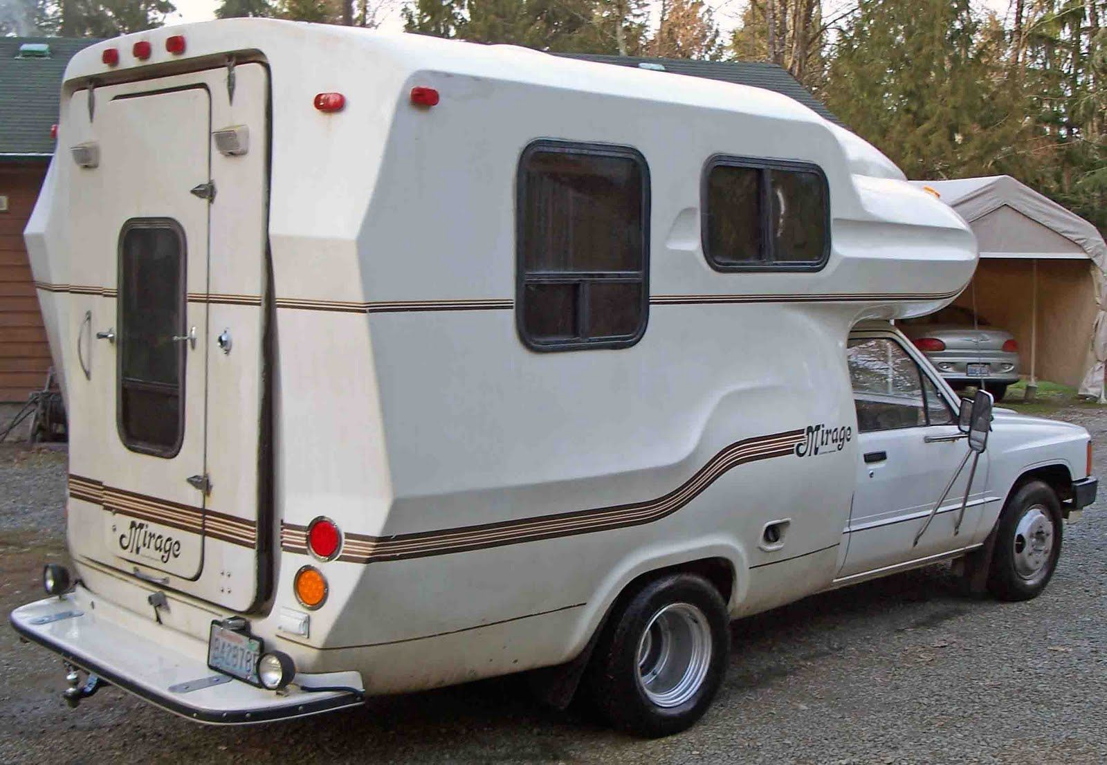 Mini Motorhome Toyota Mirage Makeover Step 1 Research