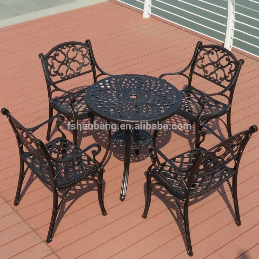 8+ Fancy Aluminium Garden Table And Chairs Set Collection in 8