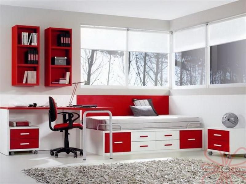 red and black bedroom decorating pierpointsprings - Red White Bedroom Designs