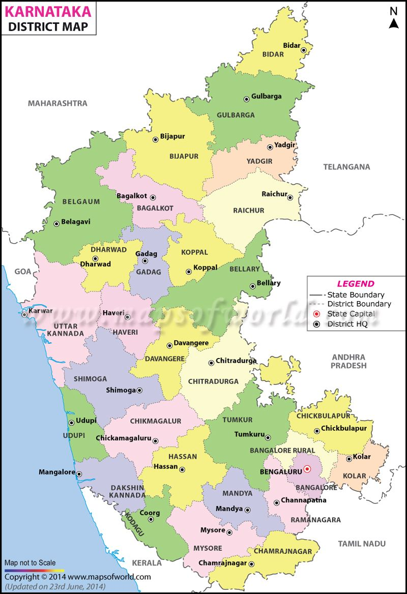 Karnataka Map Ideas for the House Pinterest Karnataka