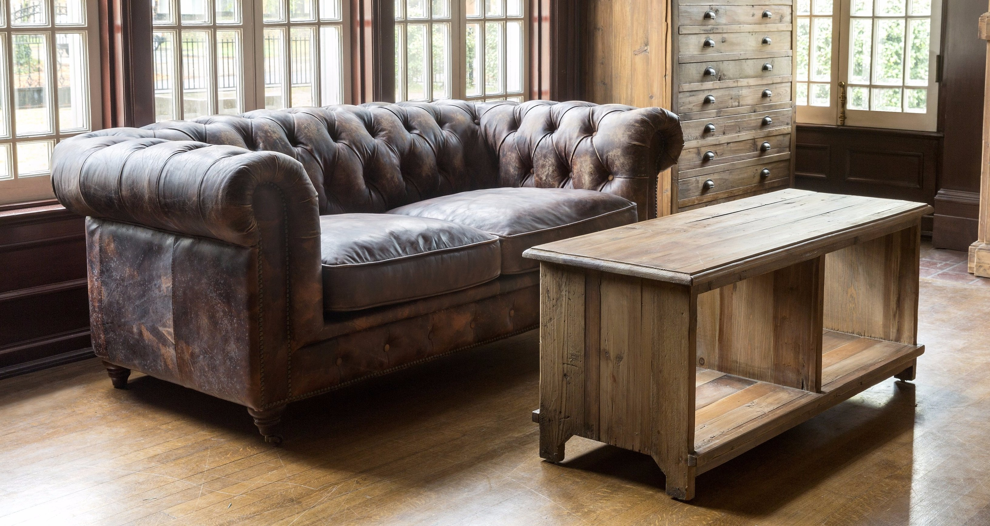 Cool Aged Leather Cattlemans Club Sofa Products Sofa Sofa Gmtry Best Dining Table And Chair Ideas Images Gmtryco