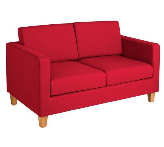 Peachy Buy Home Rosie 2 Seater Fabric Sofa Red At Argos Co Uk Bralicious Painted Fabric Chair Ideas Braliciousco