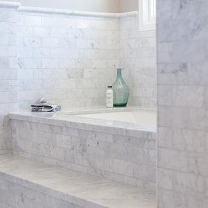 My Rafter House   Bathrooms   Bathtub Steps, Tub Steps, Marble Bathtub Steps ,