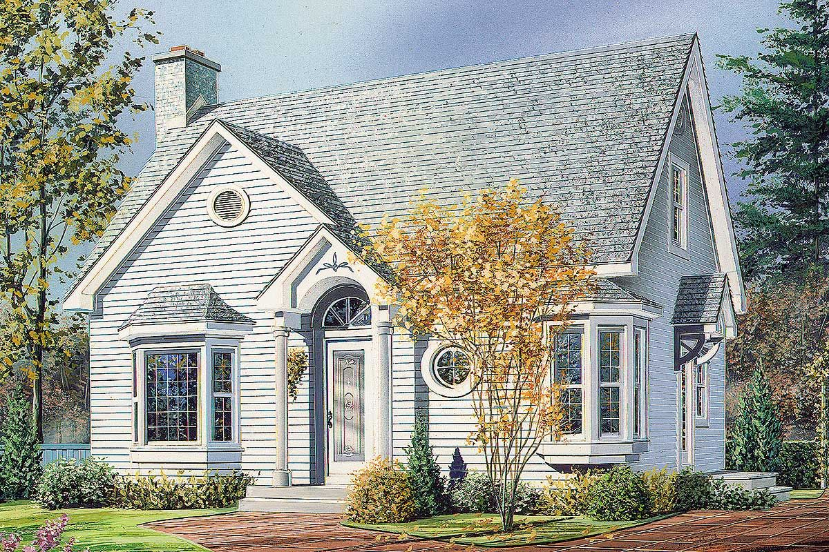 Plan 2103dr English Cottage Cottage Style House Plans Cottage Exterior English Cottage