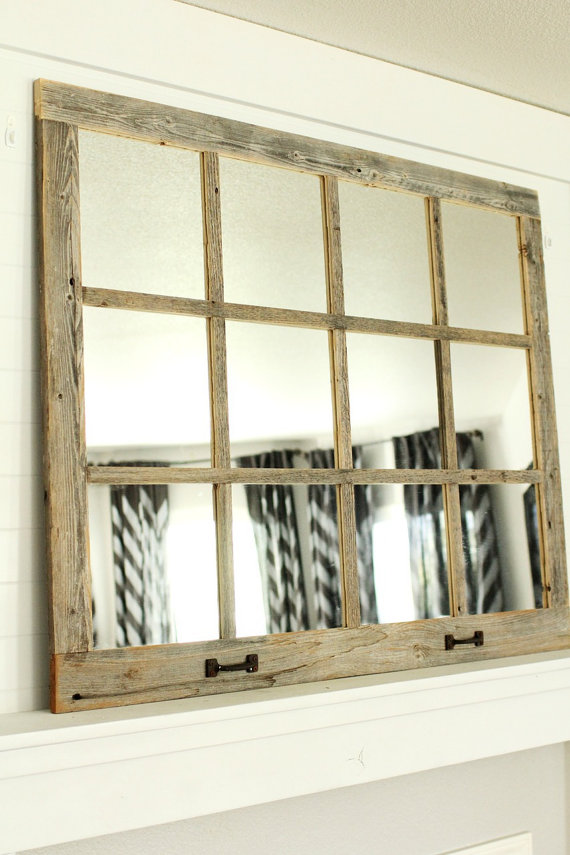 Farmhouse Mirror 12 Pane Farmhouse Mirrors