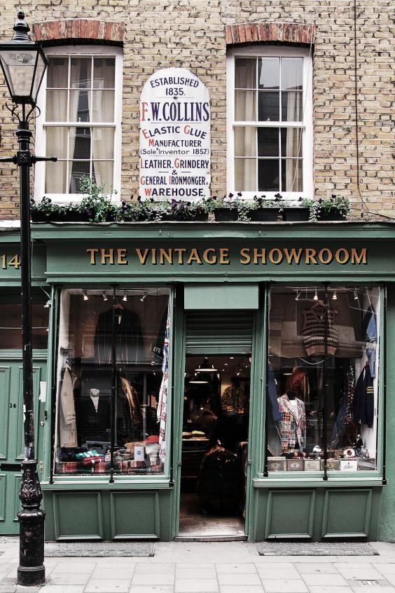 50 Best Boutiques In London Vintage Shops Store Fronts Shop Fronts