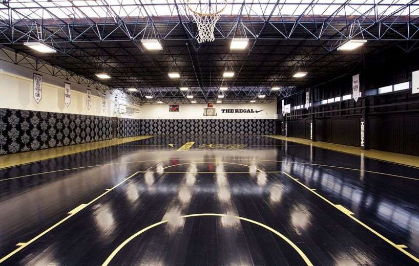 Nike Hotel The Regal Basketball Court London Basketball Court Indoor Basketball Court Home Basketball Court