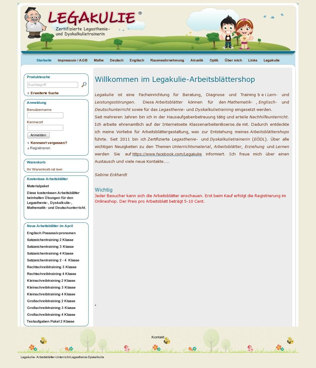Legakulie-onlineshop | Legakulie Unterrichtsmaterial | Pinterest
