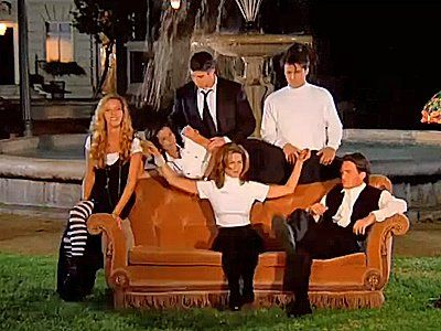 Image Result For Friends Sofa Scene