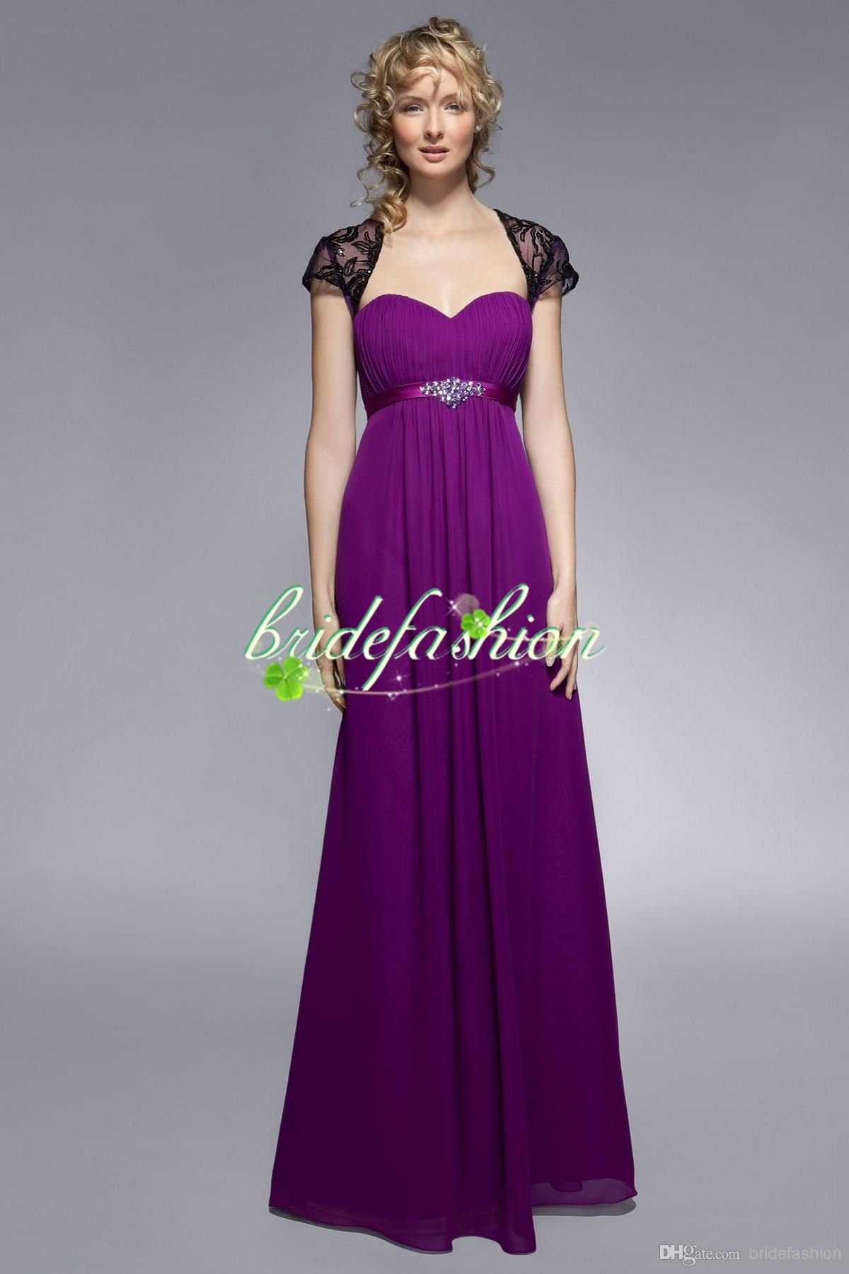 Wholesale Maid of Honor Dress - Buy 2014 New Arrive Elegant Purple ...