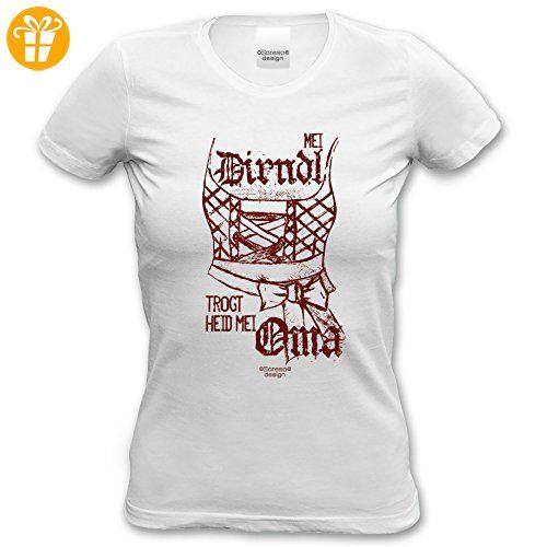 ed222feebbd6 Witziges Damen-T-Shirt-Girlie-Shirt Tracht-Trachten Mei Dirndl trogt ...