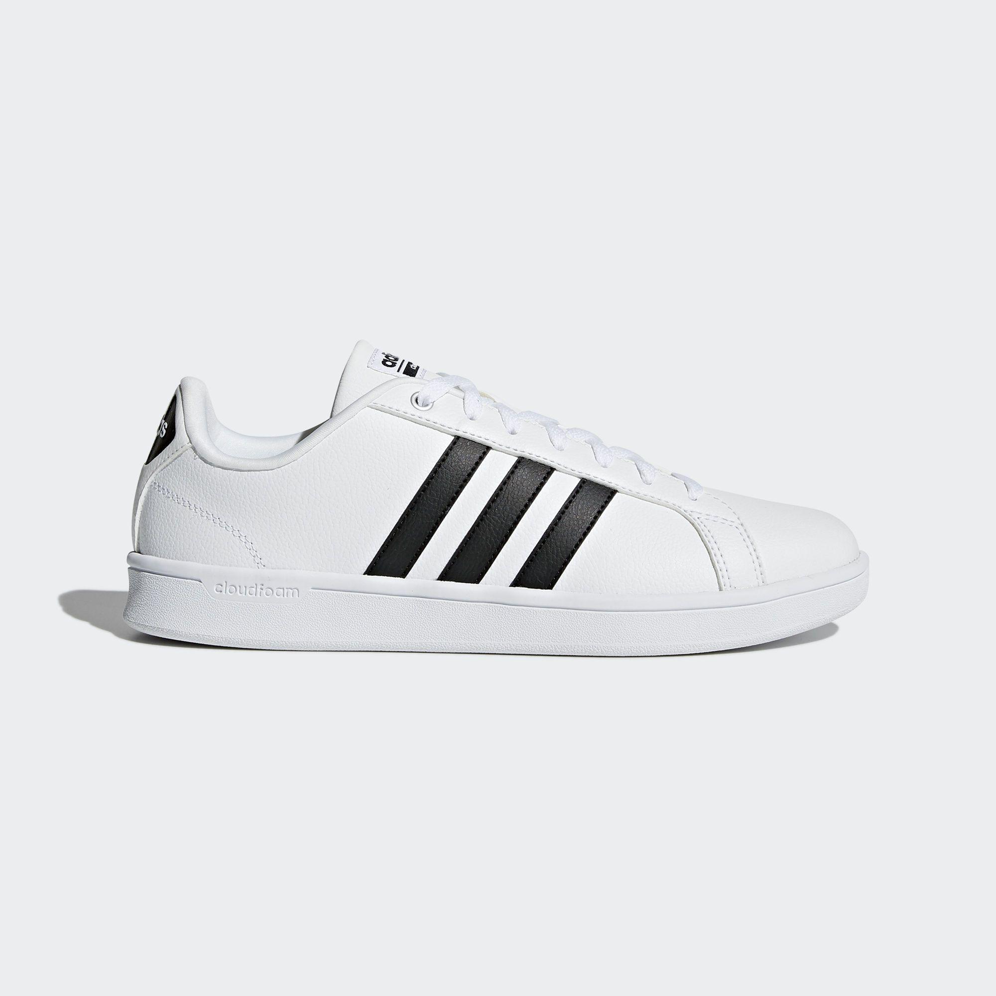 low priced 4cbf9 a2878 adidas sort sko for school