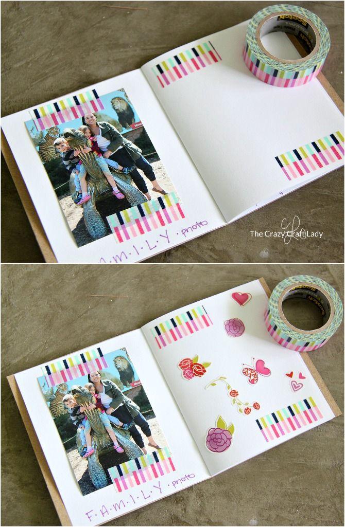 Memory Scrapbook Making A Mini Scrapbook With Kids Top