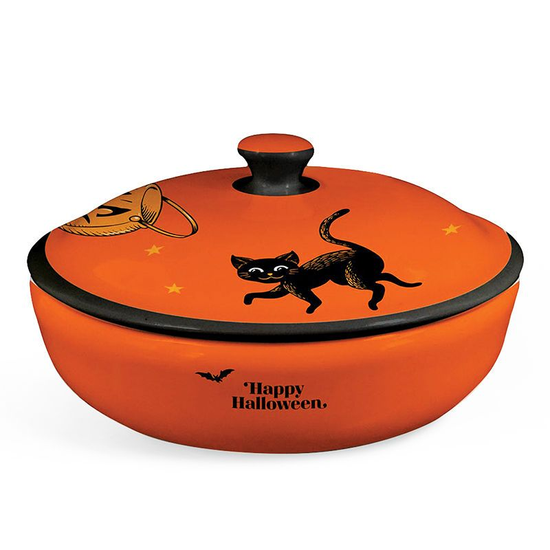 a791d905c34 Happy Halloween Candy Dish