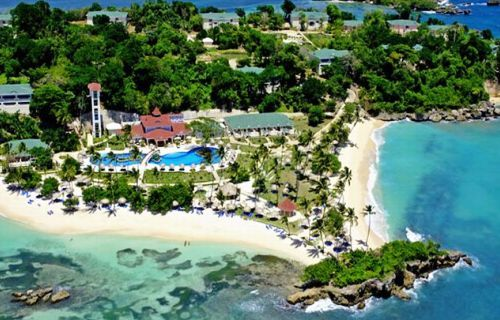 Gran Bahía Príncipe Cayo Levantado Hotel off the coast of Samana  Dominican Republic All Inclusive Resorts