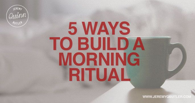 Implementing Morning Rituals can drastically change your daily production and outlook. #morningritual #ritual #entrepreneur #prayer #reading #breakfast #music