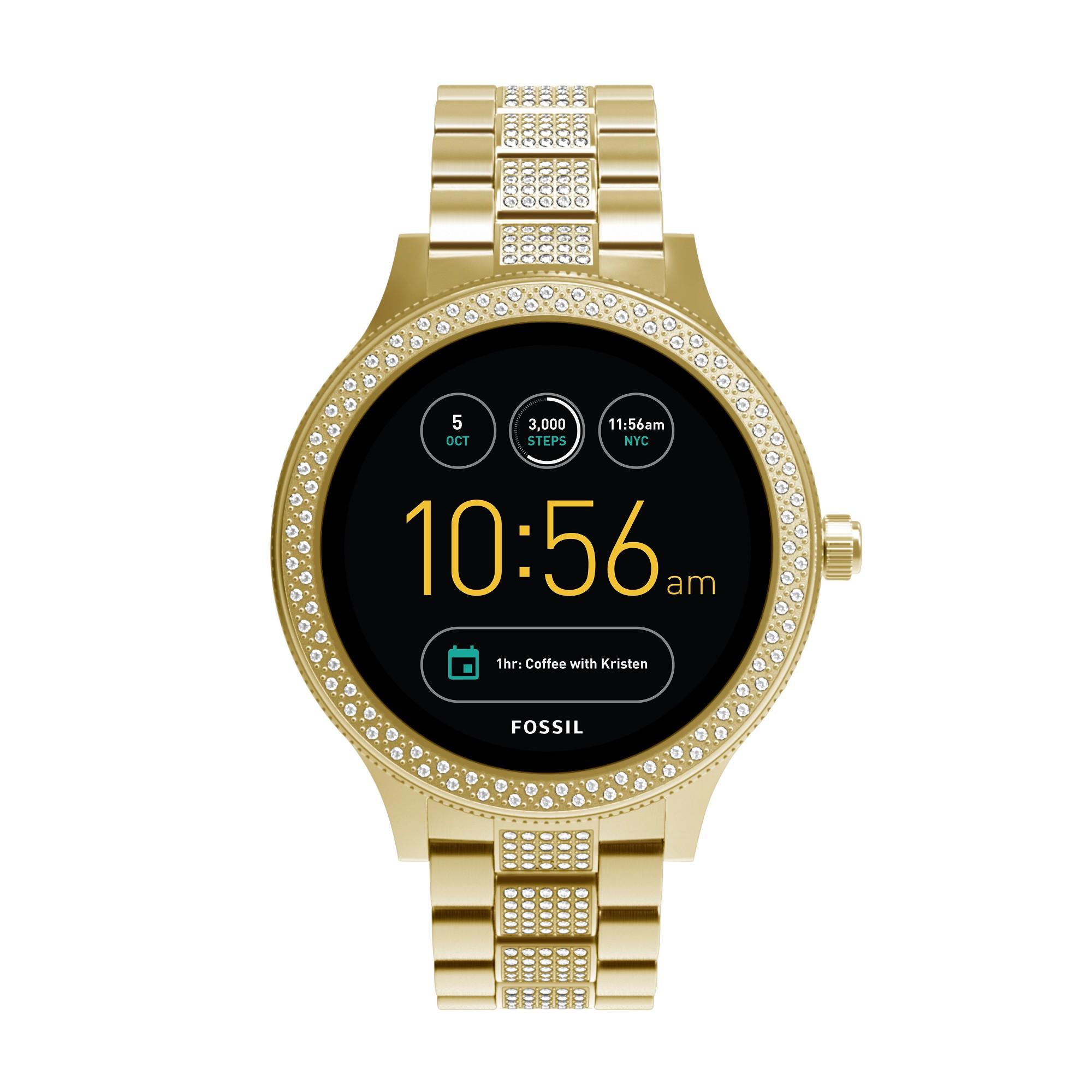 Fossil Gen 3 Smartwatch Q Venture 46mm GoldTone