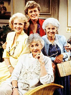 The Golden Girls . . . thank you for being a friend.