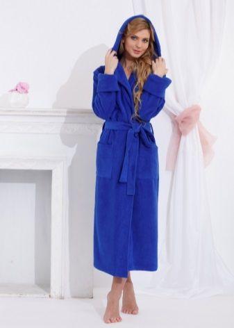 130d52a5dcf30 Махровый халат 132 фото: женские модели 2017, из Турции, банные, с вышивкой