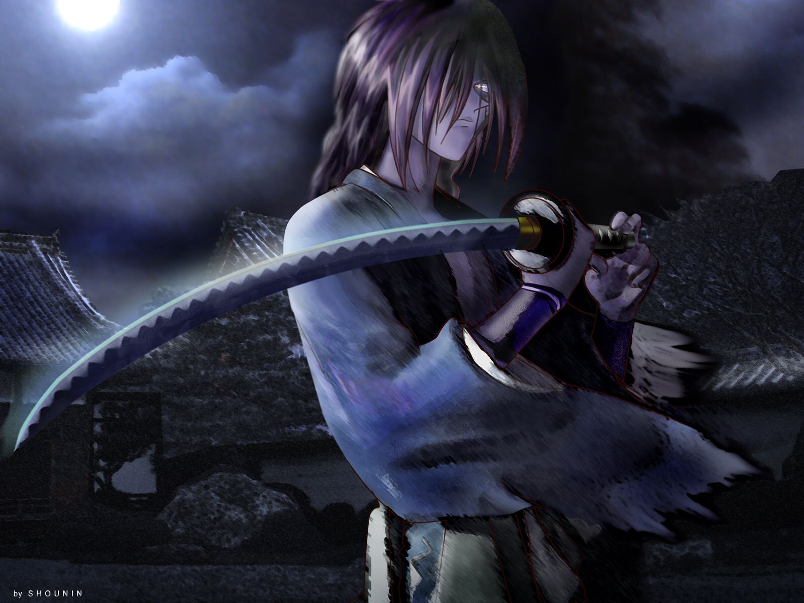 Kenshin Giapponese, Anime, Papere