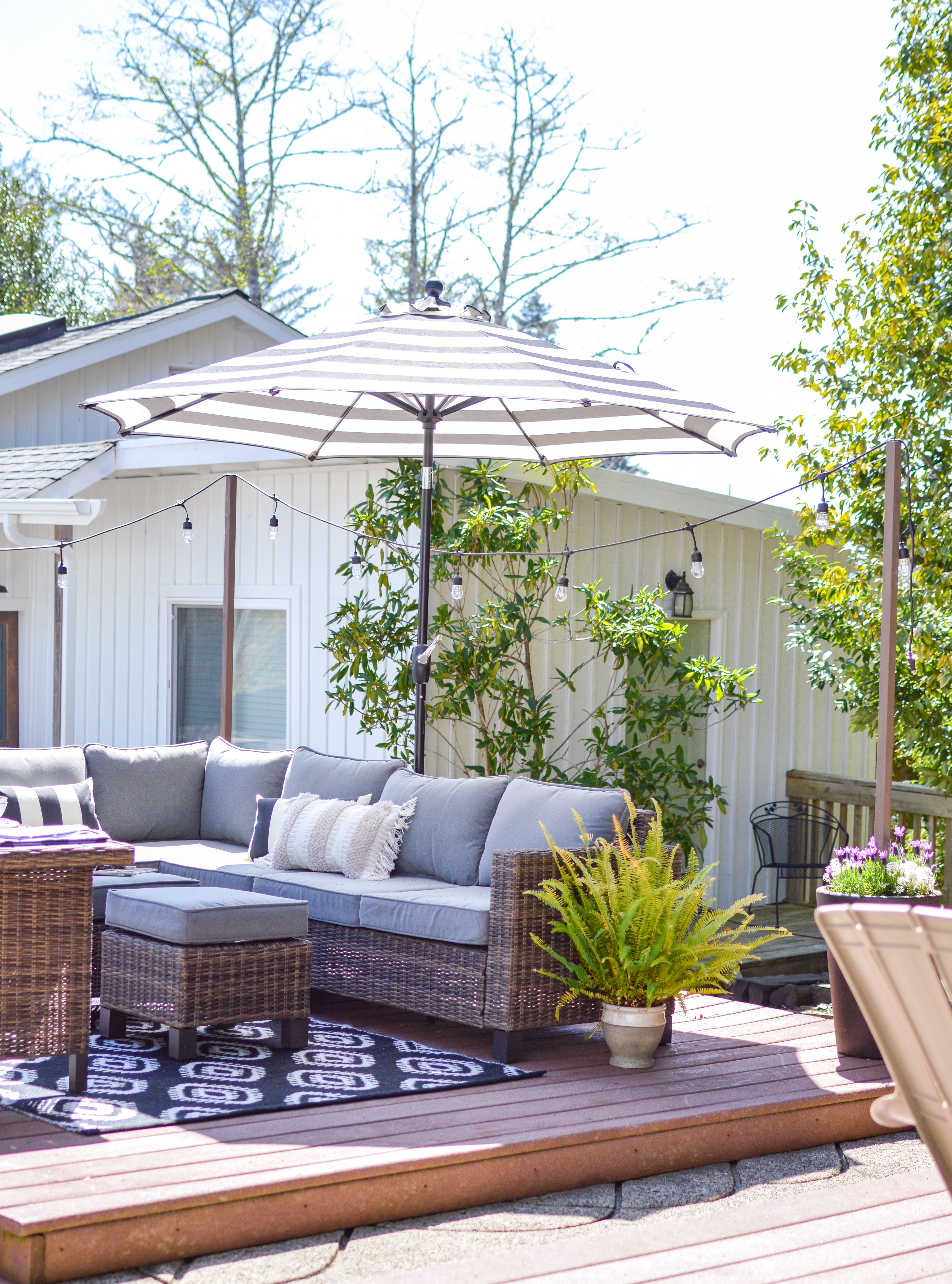 Everything You Need To Be Ready To Enjoy Your Porch And Patio Spaces Entertain And Relax Morning Til Night On A Budget With Better Homes Gardens Outdoor Patio Furniture Sets