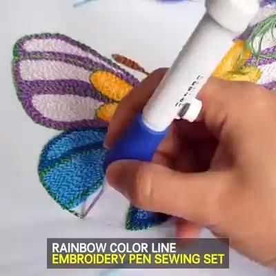 RAİNBOW COLOR EMBROİDERY