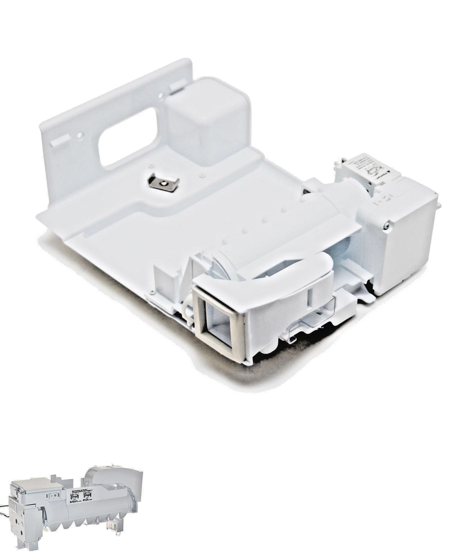 hight resolution of parts and accessories 184666 lg aeq73110210 refrigerator ice maker assembly kit with free bonus buy it now only 129 29 on ebay parts accessories