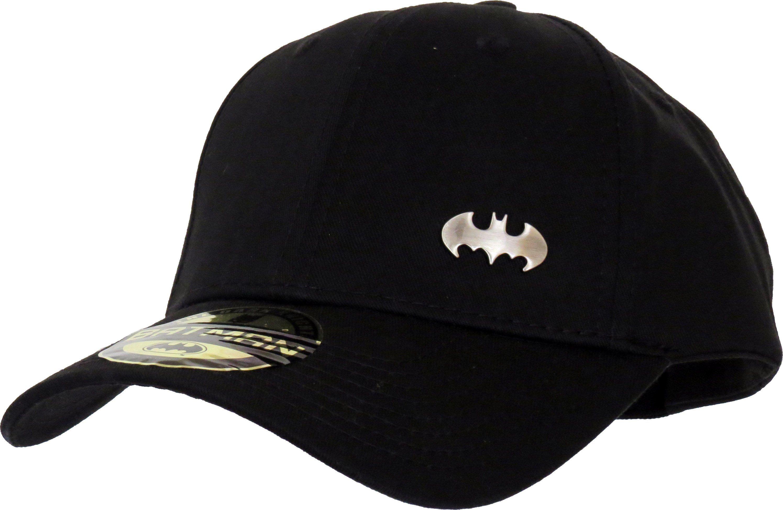 DC Comics Batman Adjustable Cap. Black with the Batman front mini logo 33559c6d8a9f