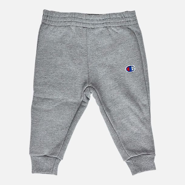 c0f5070143d3d Alternate view of Infant Champion Heritage 2-Piece Hoodie and Joggers Set  in Heather Grey