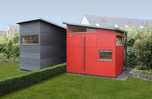 DesignGartenhäuser fertig zu kaufen (mit Bildern
