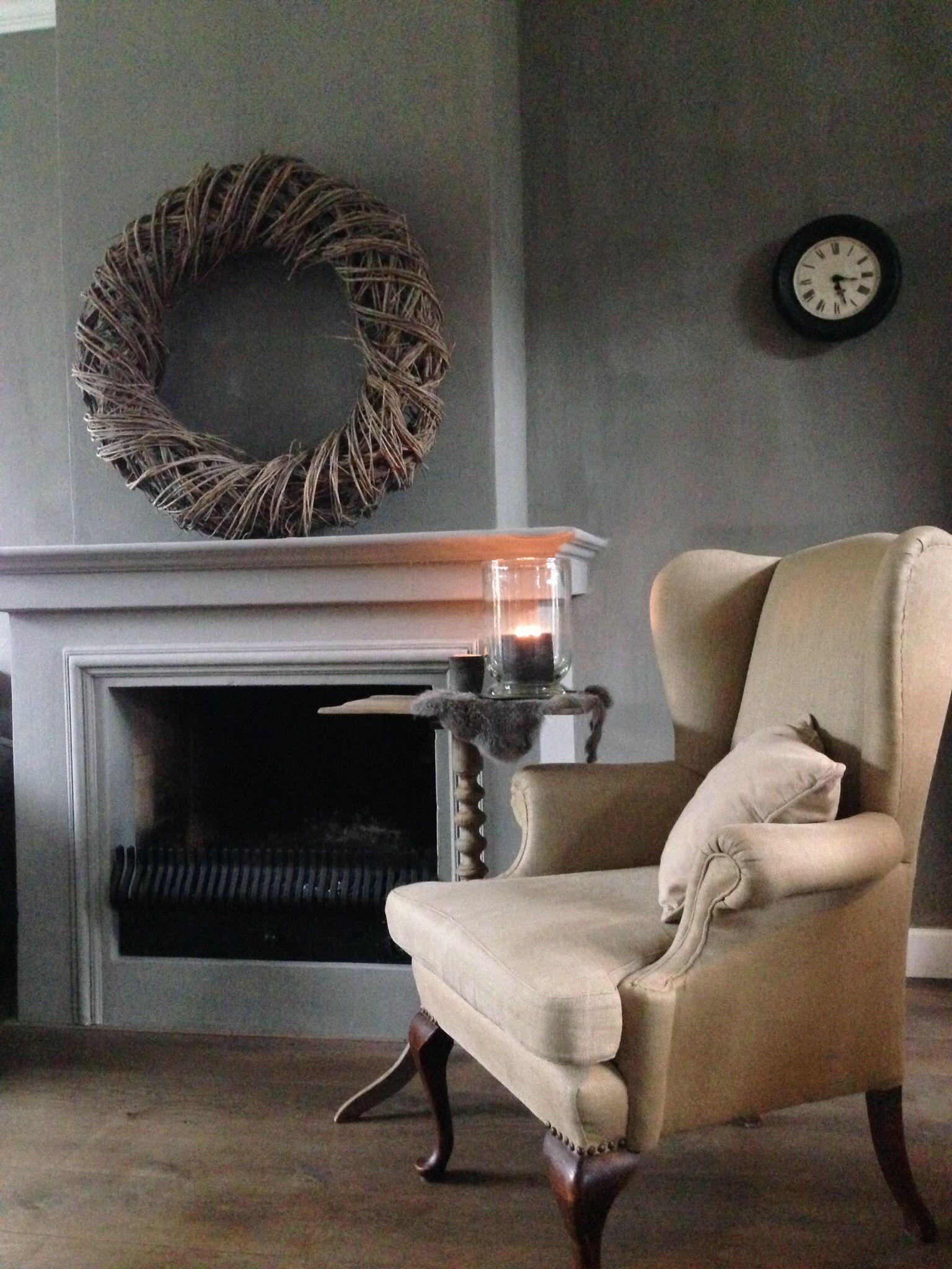 Schouw muur vloer binnen kijken pinterest home gray and met - Grijze wand taupe ...