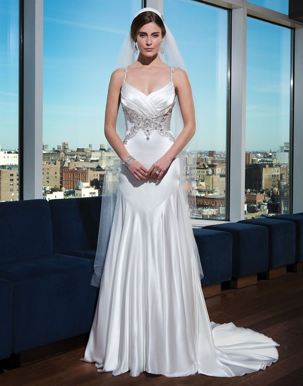 Justin Alexander signature wedding dresses style 9747 Charmeuse fit ...
