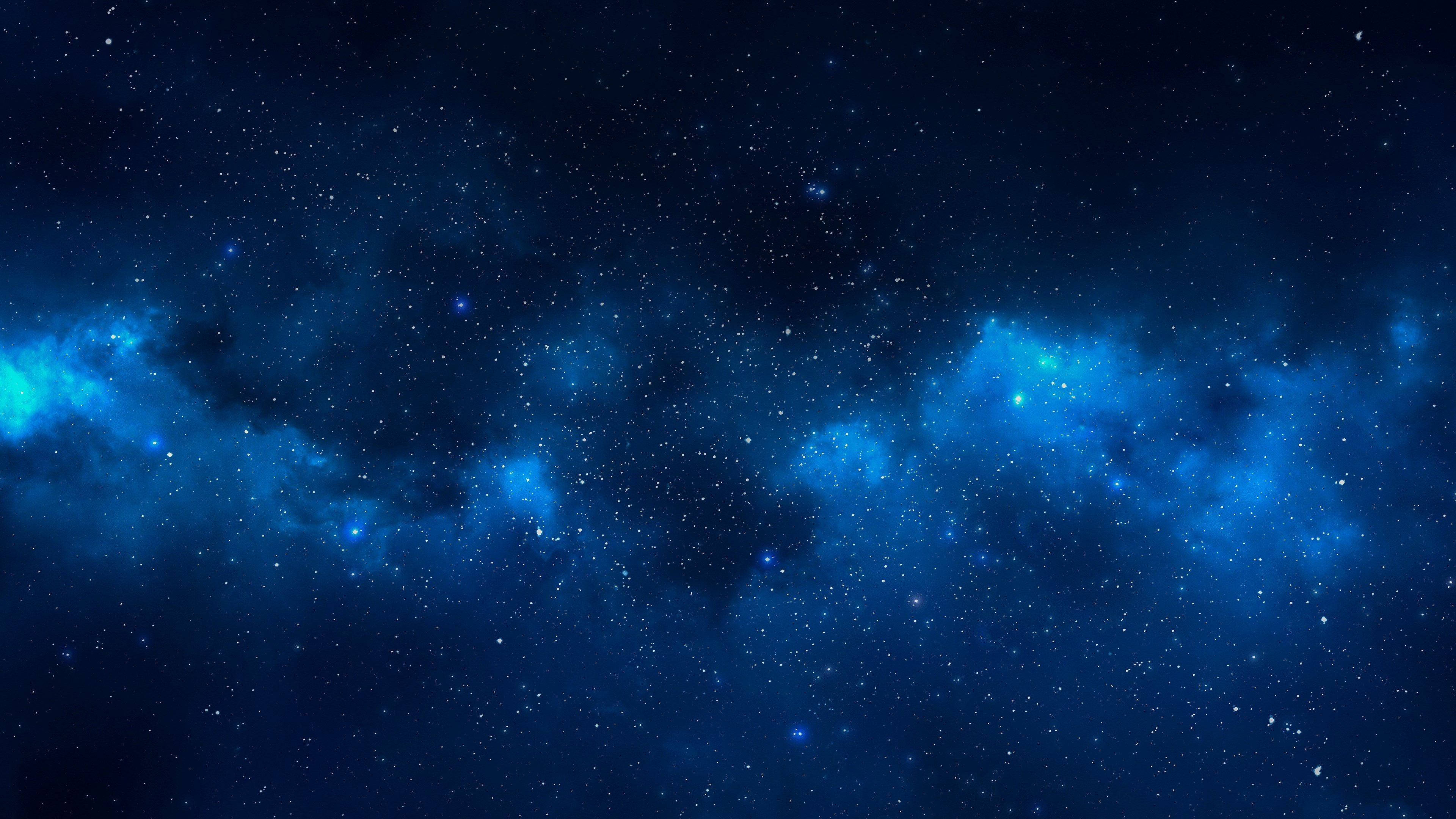 3840x2160 Stars 4k Computer Wallpaper Hd Free Download Computer Wallpaper Hd Galaxy Wallpaper Blue Galaxy Wallpaper