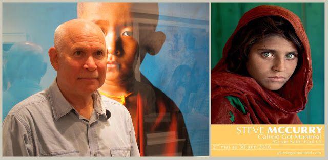 Steve McCurry inaugurates the Galerie Got de Montréal