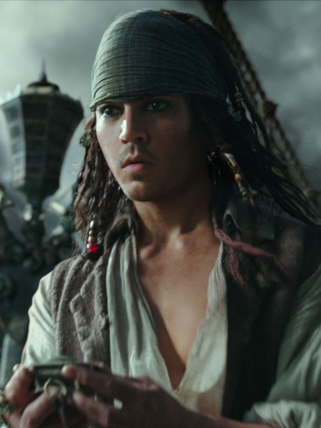 'Pirates' blew Johnny Depp away by making him '21 Jump Street' young again