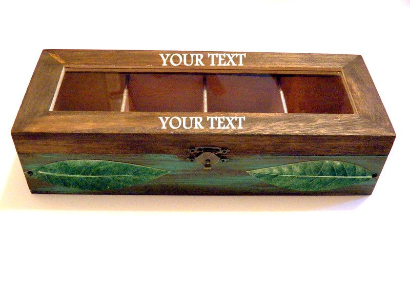 Storage Boxes. Wooden Tea ...  sc 1 st  Pinterest & Storage Boxes u2013 Wooden Tea Box Tea Infuser Tea Organizer u2013 a ...