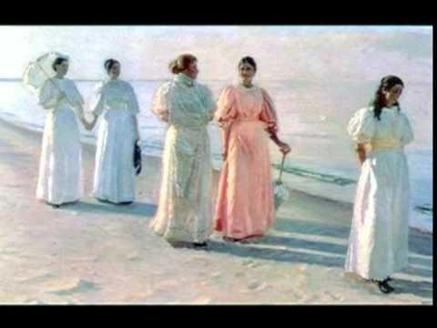 Michael Peter Ancher(Scuola di Skagen)Dedicato a Dodiese09:Caroline