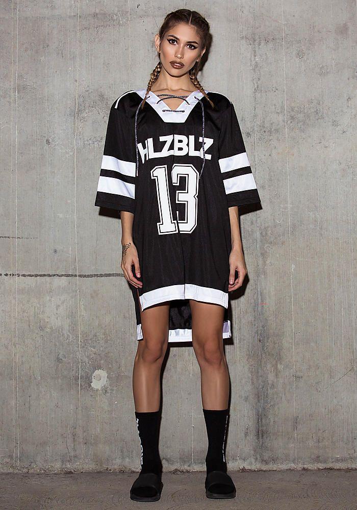 Junior Clothing Hlzblz Alumni Hockey Jersey Jersey Fashion Street Wear Urban Junior Outfits