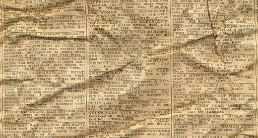 20 Cool Free Old Newspaper Textures To Feel The Past In Your Designs