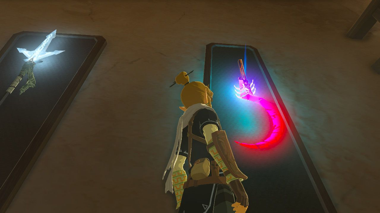 Guardian Sickle The Legend Of Zelda Breath Of The Wild Switch
