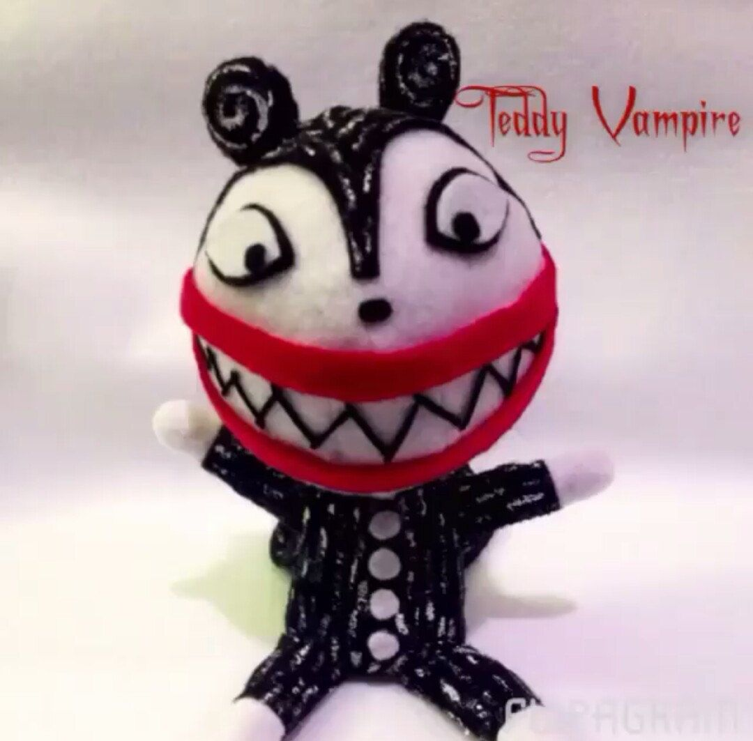 Teddy Vampire from Nightmare Before Christmas by CurvyBettiesRock on ...
