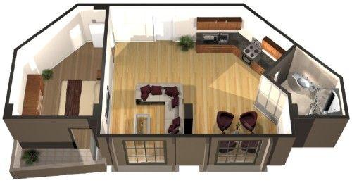 studio apartment layouts Floorplans Pinterest Studio apartment