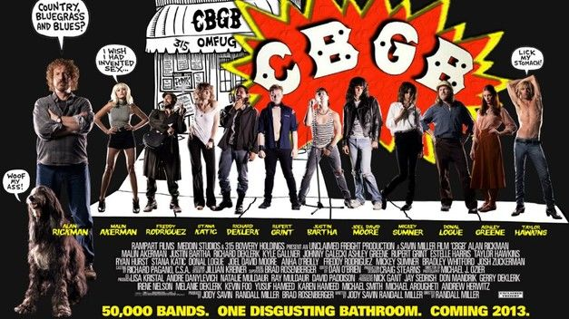 POSTER TO CBGBS MOVIE UNVEILED
