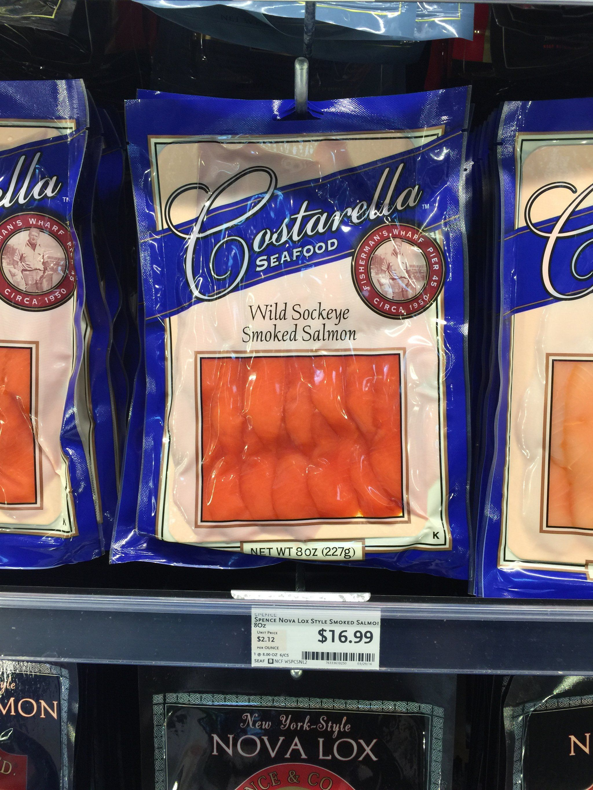 Best Whole Foods Product Costarella Wild Sockeye Smoked Salmon 17 Sockeye Smoked Salmon Whole Food Recipes