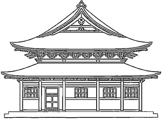 Monuments And Other Sights In Asia Coloring Pages Printable Games