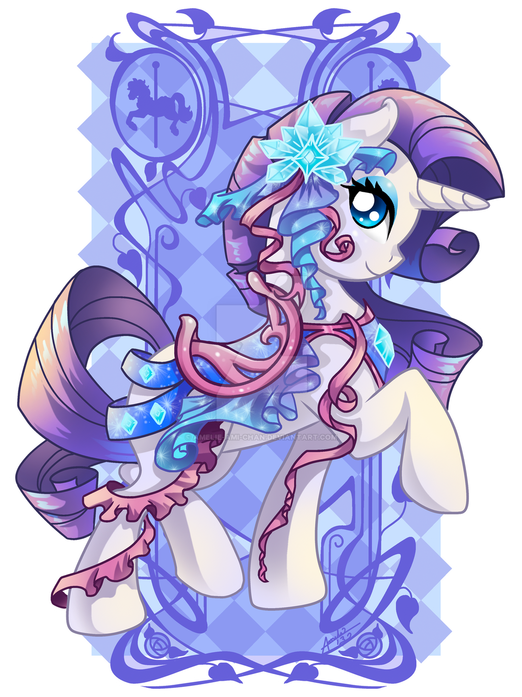 Flutter Shy My Little Pony by Amelie-ami-chan on