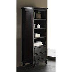 Perfect Avanity Merlot Linen Tower In Espresso     Linen Towers U0026 Cabinets   Bed U0026  Bath