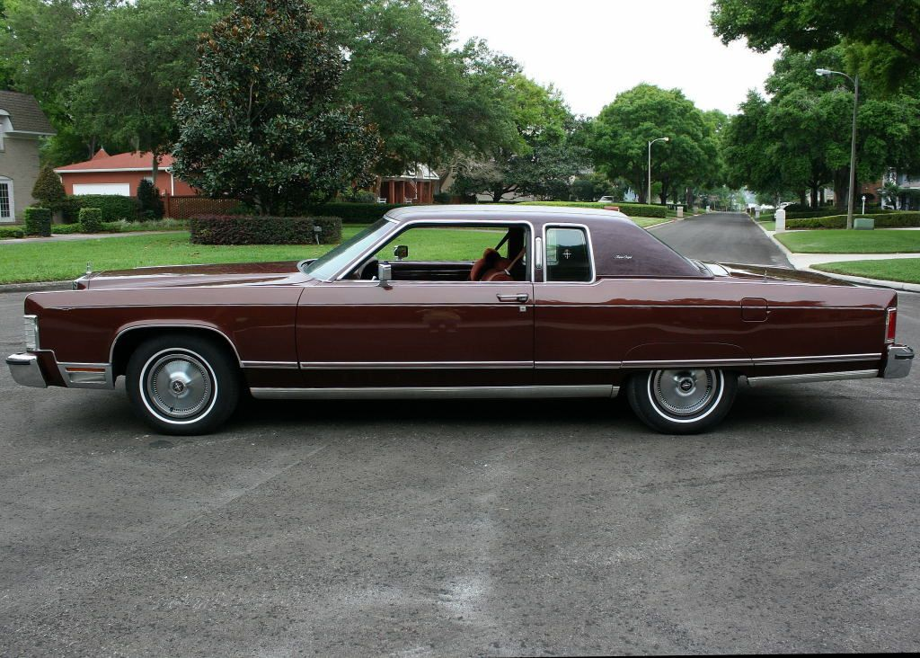 All American Slassic Sars 1977 Lincoln Continental Town Coupe 2