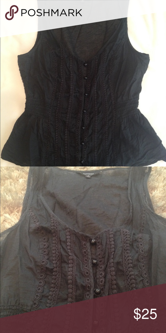 Express Embroidered Tank