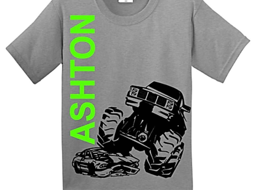Monster Truck Birthday Shirt By Craaus On Etsy Https Www Etsy Com Listing 22148729 With Images Monster Trucks Birthday Party Monster Truck Birthday Trucks Birthday Party